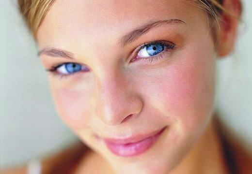 чистое лицо без пятен