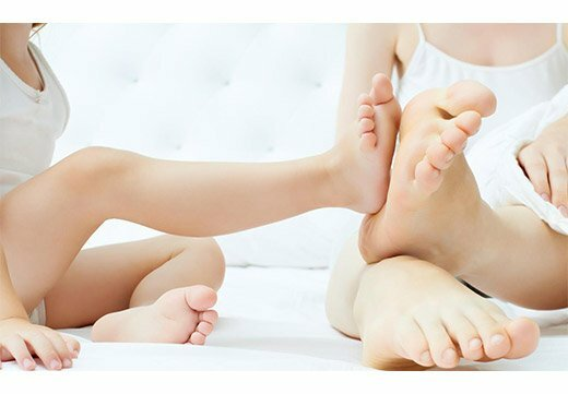 Родимое пятно на ноге