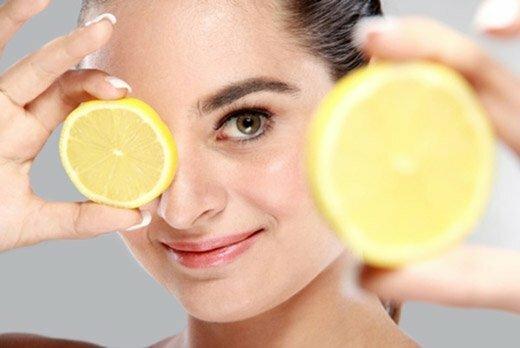 лимон от веснушек